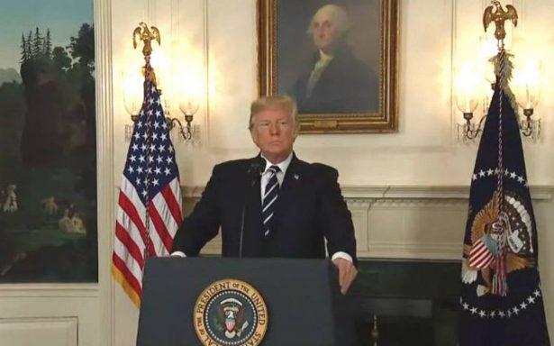 Trump advierte que cancelará el pacto nuclear con Irán si no logra cambiarlo