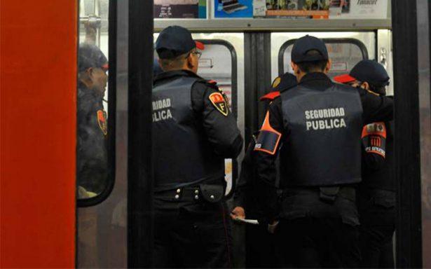 Policías detienen a cuatro asaltantes en líneas 4 y 5 del Metro