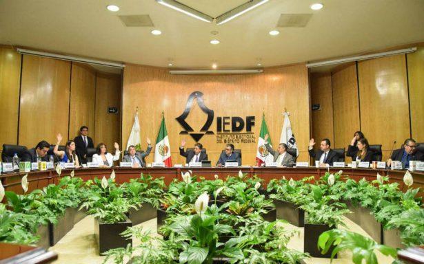 IEDF también extiende plazo para registro de independientes