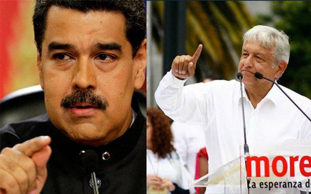 Piden investigar posible financiamiento de Maduro a AMLO