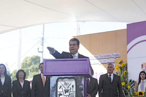 Informe del primer alcalde perredista