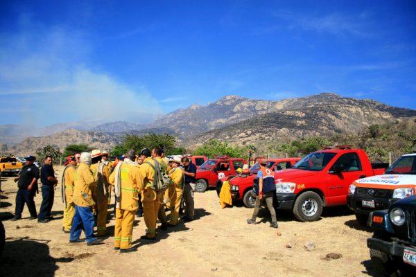 Apagan nuevo incendio en el Cerro del Muerto