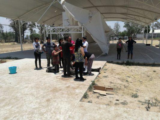 Seis estudiantes heridos