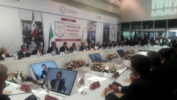 Importantes acuerdos se tomaron en la reunión de seguridad pública de la CONAGO