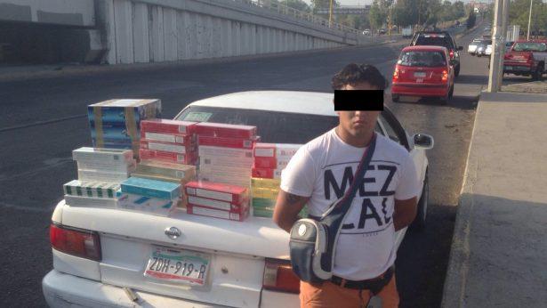 Asestan golpe al tráfico de cigarrillos extranjeros