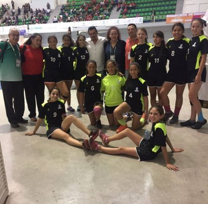 Handball también aporta medalla para Aguascalientes en la Olimpiada Nacional 2017