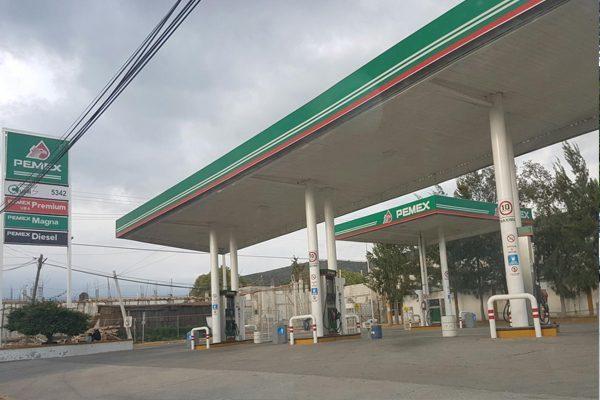 No hay desabasto de gasolina en la entidad, asegura Pemex