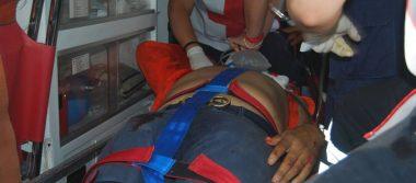 Comerciante herido de un balazo en la cabeza