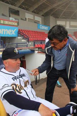 Vamos bien, dice Homar Rojas, manager de Rieleros