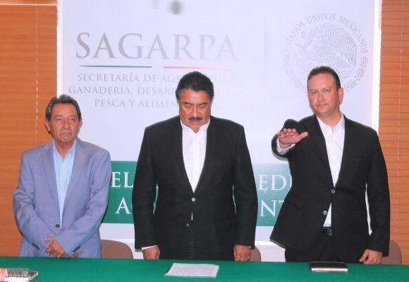 Raúl Landeros Bruni es el nuevo delegado en el estado