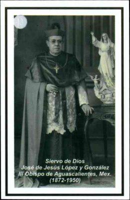 Autoriza el papa decreto para avanzar en santificación del obispo López y González