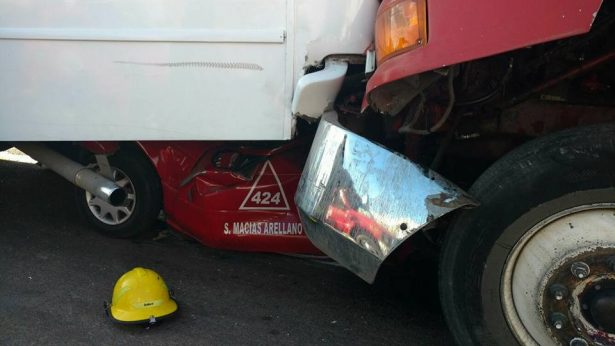 Incremento de accidentes  por falta de agentes viales