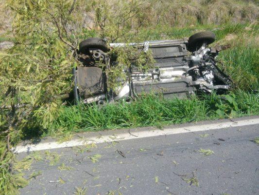 Familia de Aguascalientes se accidenta en la carretera a Tamazula, Jalisco: un muerto y tres heridos
