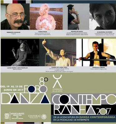 Todo listo para el 8° Foro de Danza Contemporánea