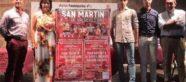 Joselito Adame abre la septembrina Feria de San Martín de Valdeiglesias