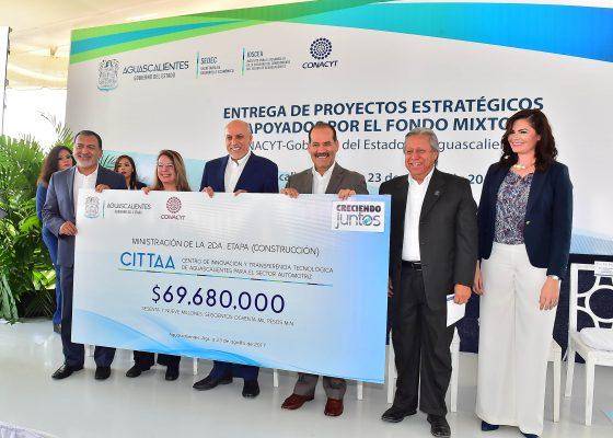 Recursos por 69 millones de pesos para la segunda etapa del CITTAA