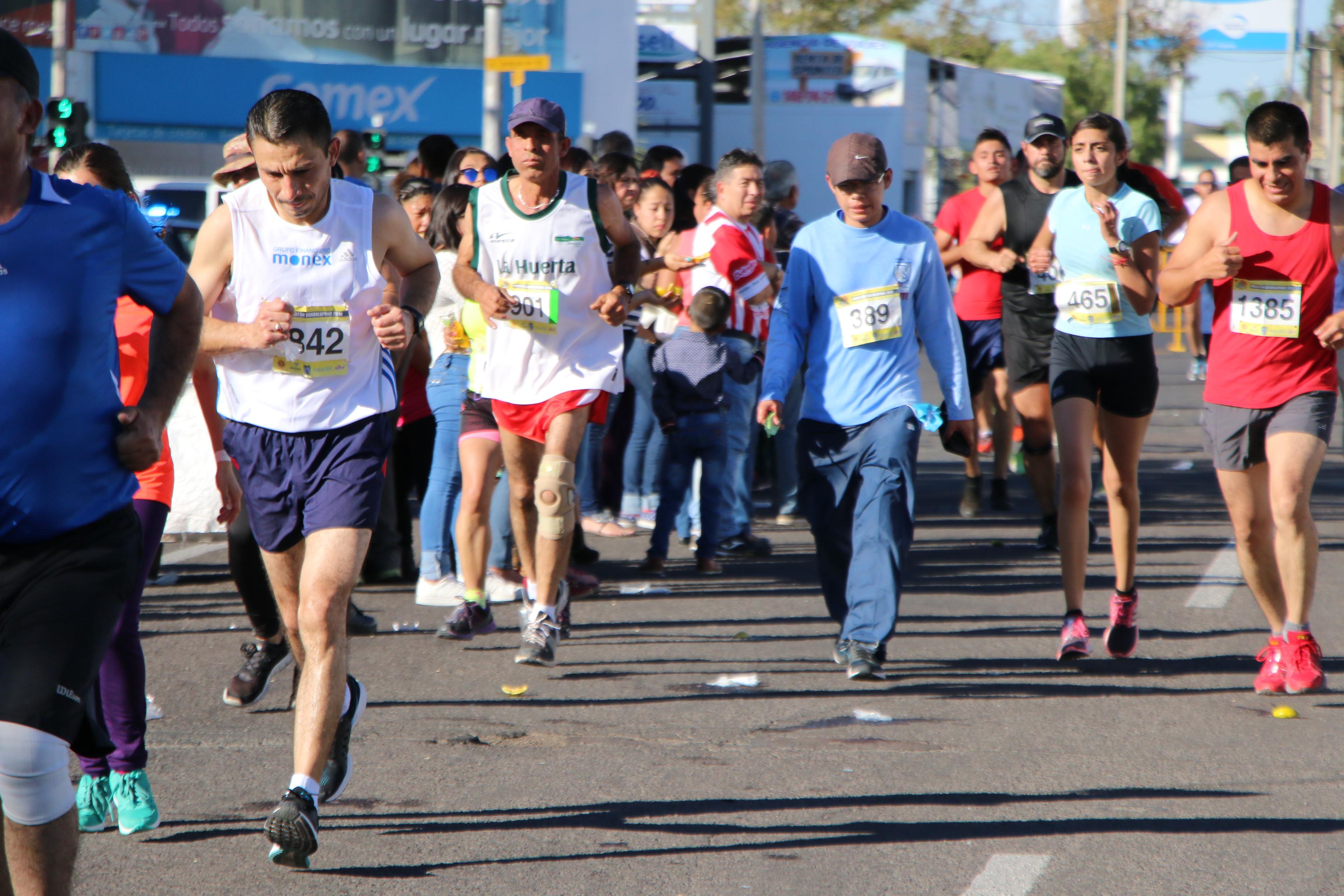 SE APROXIMAN varias carreras atléticas, entre ellas la de Real del Sol el día 27 de agosto.