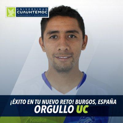 Futbolista de UCA Abraham Sánchez se va a conquistar Europa
