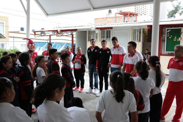 En la primaria Héroe de Nacozari comenzó Tour Escolar de Necaxa