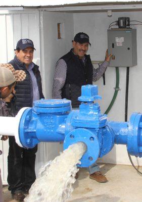 Más comunidades rurales cuentan con agua potable