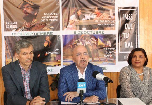 Se reactiva el teatro del IMSS en Aguascalientes