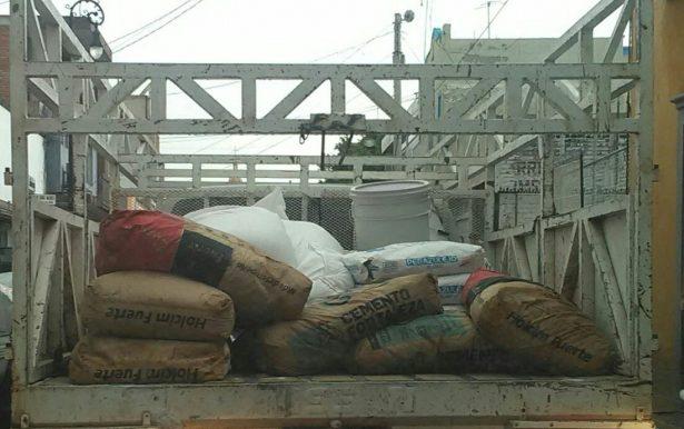 Constructores recaudan material y herramienta para donar a damnificados y rescatistas