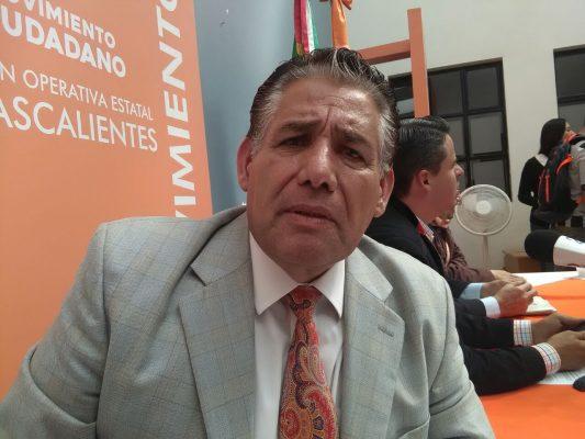 Impugna MC la participación del PRI  en el proceso electoral local 2018