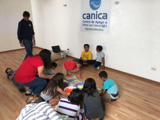 Canica fortalece anímicamente a familias con hijos enfermos de cáncer