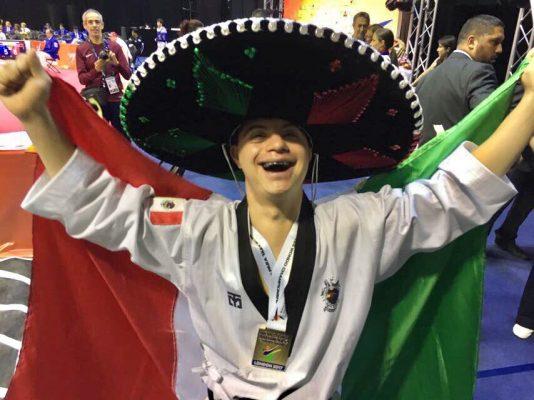 Ayer en Londres, Inglaterra, Alejandro Gutiérrez Rudiño es el primer mexicano en ganar el oro en Mundial de Para-Taekwondo