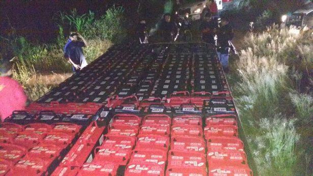 Recuperan aquí tráiler robado en Zacatecas
