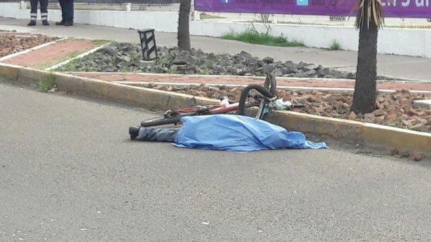 Fallece ciclista arrollado