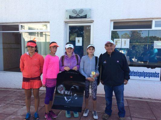 María Alejandra González Moreno campeona del Wilson Jr. Scouting de Tenis