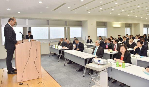 100 directivos japoneses conocieron  el potencial de la entidad para invertir