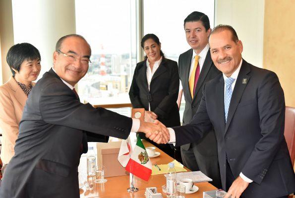 Nissan y Yorozu reconocen al estado como  su socio comercial más fuerte en este país