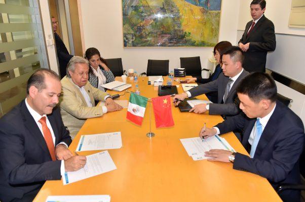Concreta el Gobernador nueva inversión china para la entidad