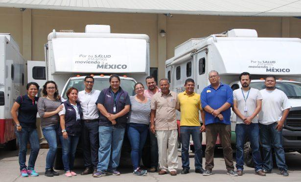 ISSEA brinda apoyo médico a damnificados por los sismos