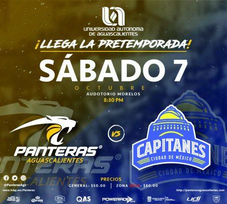 Primer duelo de preparación de Panteras hoy en Poliforum Deportivo y Cultural Morelos