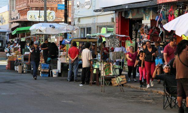 El comercio informal  aumenta cada vez más