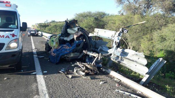 Espantoso accidente carretero