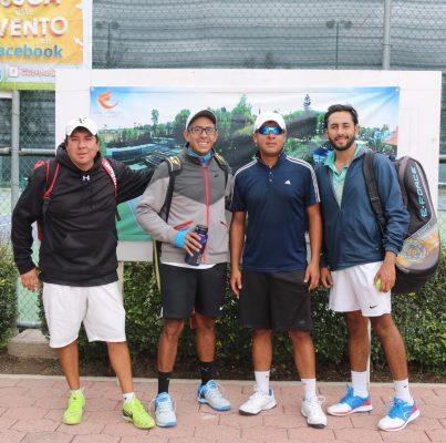 Mañana inician modalidad de dobles del torneo de tenis de Futurama