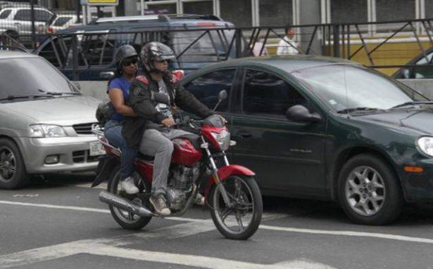Meterán en cintura a motociclistas y ciclistas