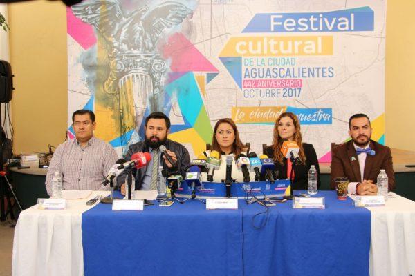 Presentan el programa del Festival Cultural de la Ciudad