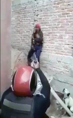 Intentó matar a su hija