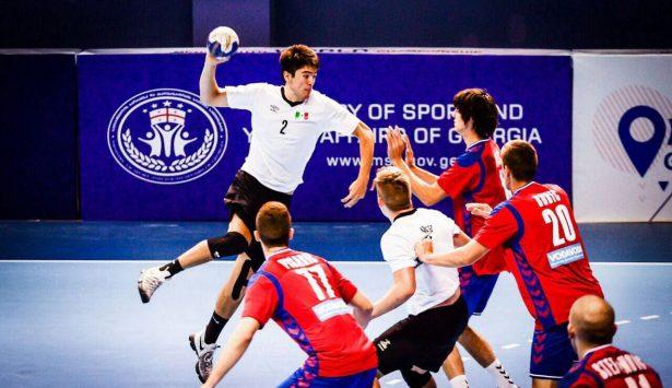 A visorias de handball  Andrés Martínez a Alemania