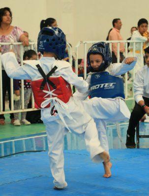 Se desarrolló la primera etapa de la Liga Estatal de Taekwondo