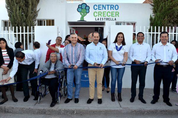 Centros Crecer fortalecen  tejido social: Gobernador