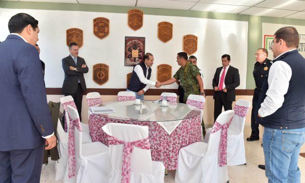 MOS acuerda fortalecer acciones de  seguridad en el municipio de Calvillo