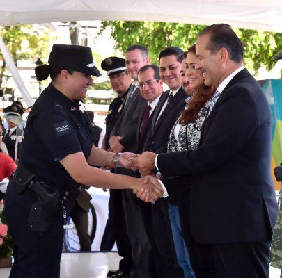 Plantea MOS incrementar 40% el presupuesto en seguridad pública
