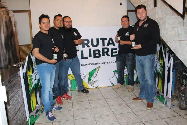 """""""Ruta Libre"""": una alternativa  de cerveza 100% artesanal"""