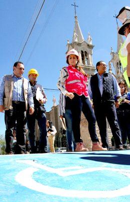 Avanza proyecto de rehabilitación del populoso barrio de La Purísima